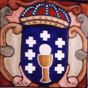 Coat of Arms of Galicia. Is the Chalize a Cup of the Sun?