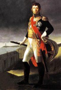 """Juan Díaz Porlier, apodado """"el marquesito"""", al parecer por su afición a soliciatr fondos haciéndose pasar por hijo del prestigioso Marques de la Romana, comandante del Ejército Es`pañol de la Izquierda."""
